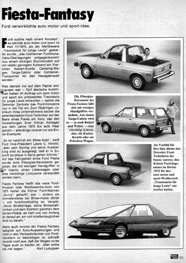 Ford Fiesta I - \